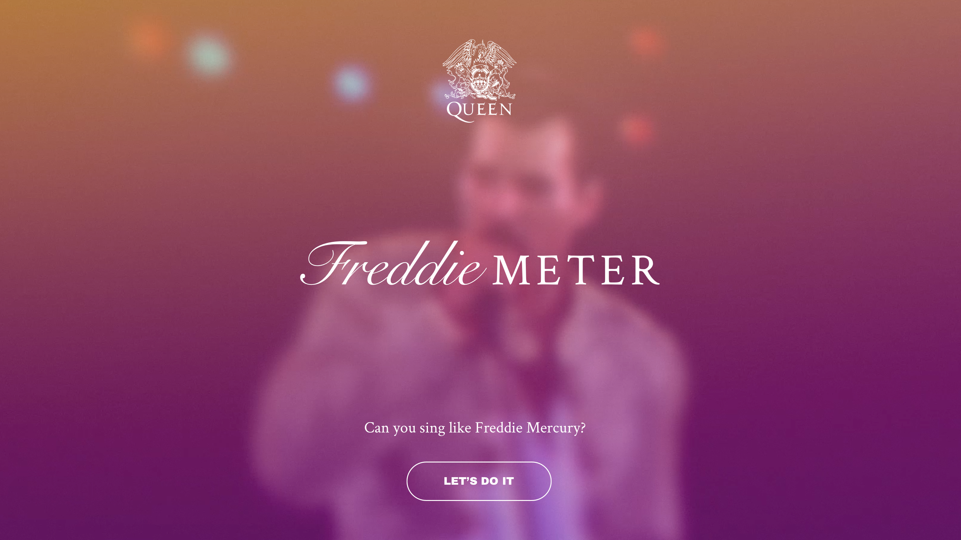 Can you sing like Freddie?